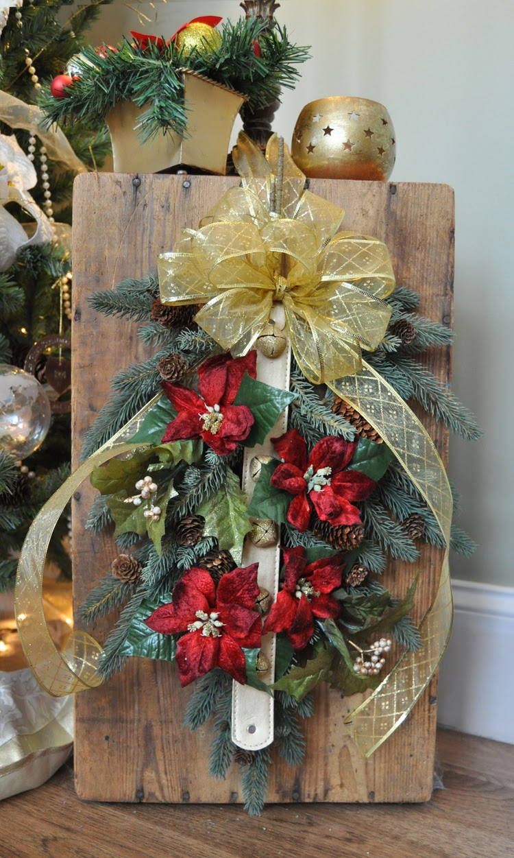 The Wool -N- Button: Recycled Christmas Decorations ...
