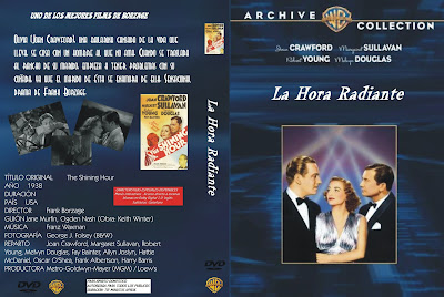 Caratula, Cover, Dvd: La hora radiante | 1938 | The shinning hour