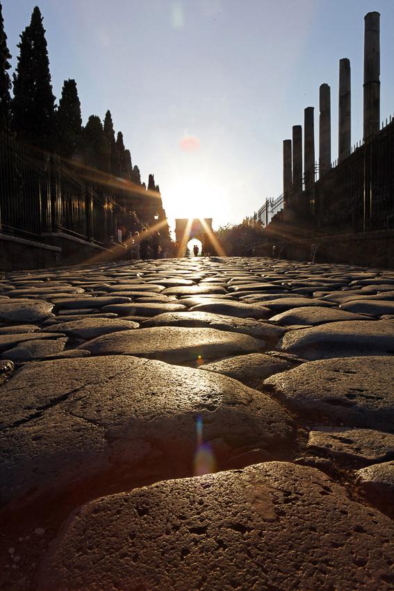 Via sacra. Roma