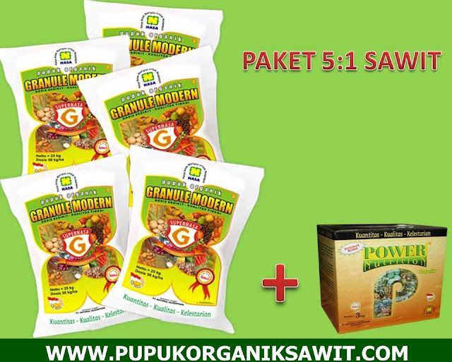 pupuk sawit supernasa granule power nutrition