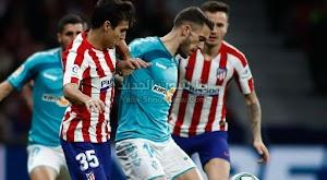 اتليتكو مدريد يتقدم للمركز الرابع في الدوري الاسباني بعد الفوز على فريق أوساسونا