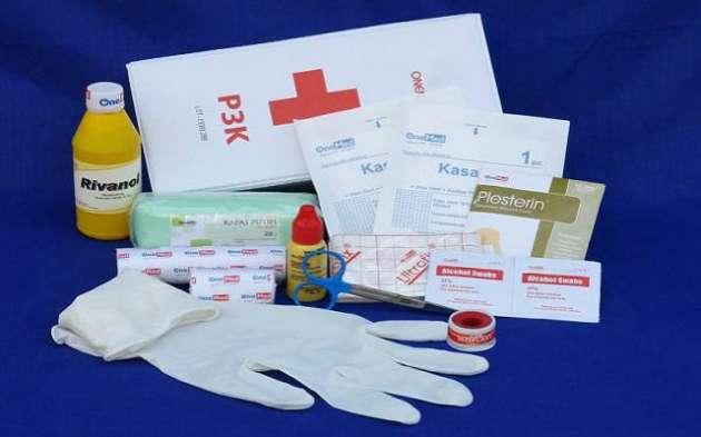 Pentingnya Menyediakan P3K / First Aid Kit Dirumah ataupun Dikantor