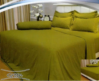 sprei vallery green