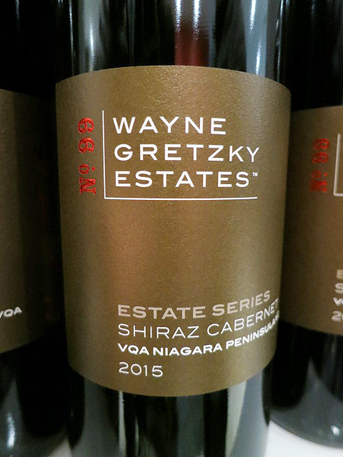 Wayne Gretzky Estate Series Shiraz Cabernet 2015 (89 pts)