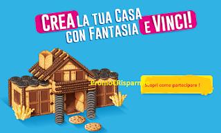 Logo Crea la tua casa con fantasia e puoi vincere buoni IKEA da 250 e 4.000 euro