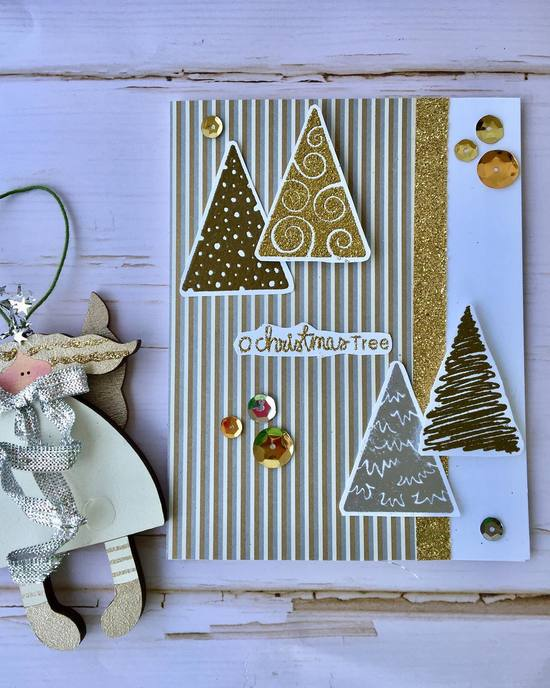 O Christmas Tree by Meghan features Festive Forest by Newton's Nook Designs; #newtonsnook