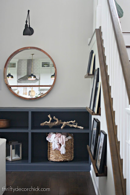 DIY picture frame ledges how-to