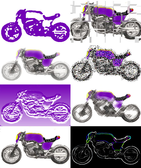 Tims Motorcycle Diaries: Naked Connie: 3d modelling