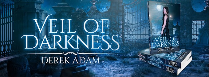 [New Release] VEIL OF DARKNESS by Derek Adam @TBayMedia #Trailer