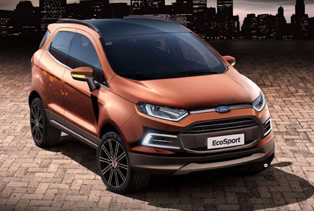 Mobil Ford EcoSport 2017