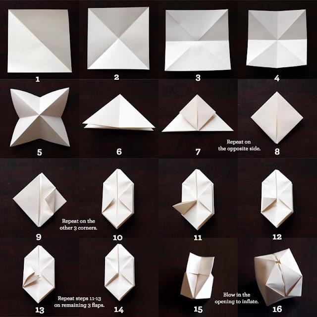 Make DIY Paper Cube String Lights