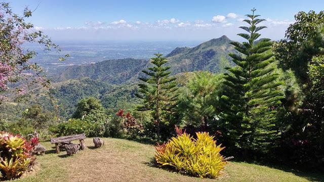 bluegreen mountain view