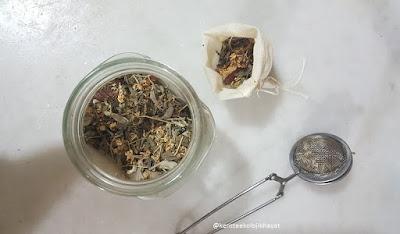 Ev yapımı ekolojik bitki çayı