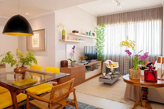 Construindo minha casa clean apartamentos 5 dicas de for Colores para apartamentos pequenos