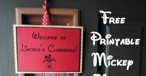 picture relating to Free Printable Mickey Mouse Signs known as Director Jewels: Mickey Mouse Clubhouse Birthday Get together