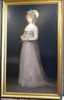 Retrato de María Teresa de Borbón y Vallabriga, condesa de Chinchón de Francisco de Goya.
