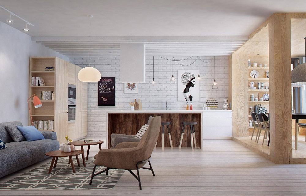 Come valorizzare un appartamento per una famiglia dotato - Studiare interior design ...