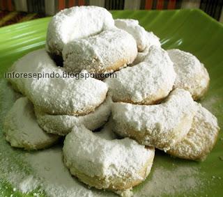 Resep Kue Putri Salju Spesial Renyah Dan Lembut Aneka
