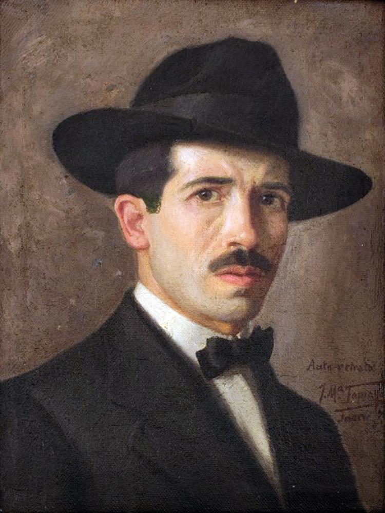 José María Tamayo Serrano, Galería de autorretratos, Pintor español, Pintura española,  Pintores Realistas Españoles,  Galería de retratos Figurativos, José María Tamayo