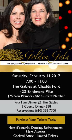 Ed Foundation Golden Gala Promotion
