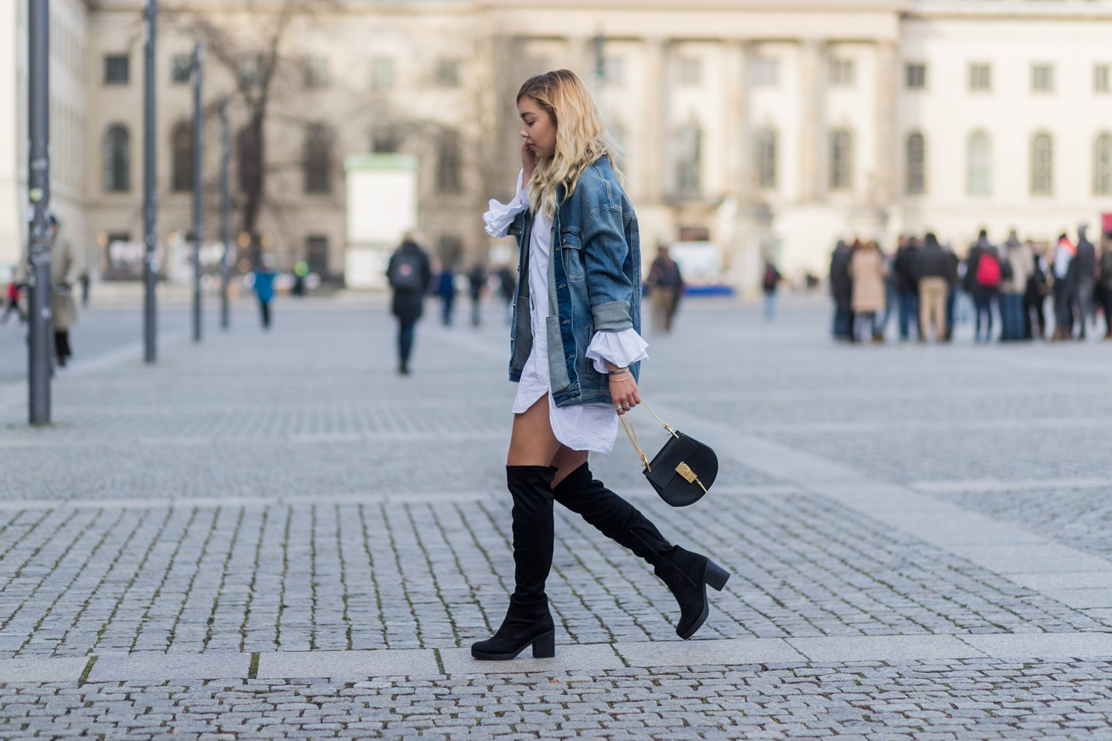 How To Style Overknees Fashionzire