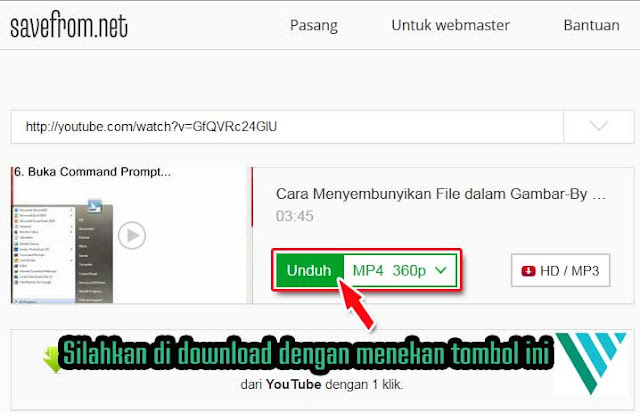 Cara Download Video Youtube Cukup Pakai 2 Huruf