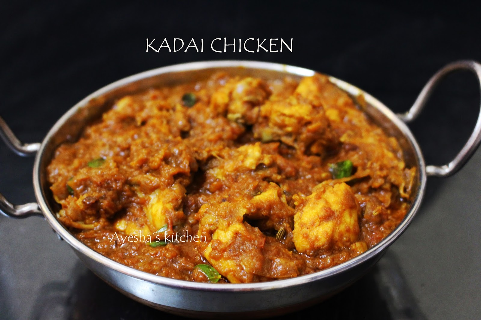 Kadai chicken chicken karahi kadayi chicken recipe inviting texture and the aroma of freshly ground spices can make anyone hungry is the recipe showing how to make karahi kadai kadayi chicken forumfinder Gallery