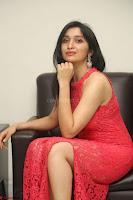 Sakshi Kakkar in Red Legsplit Sleeveless Gown at Dare movie Press meet ~  Exclusive 030.JPG