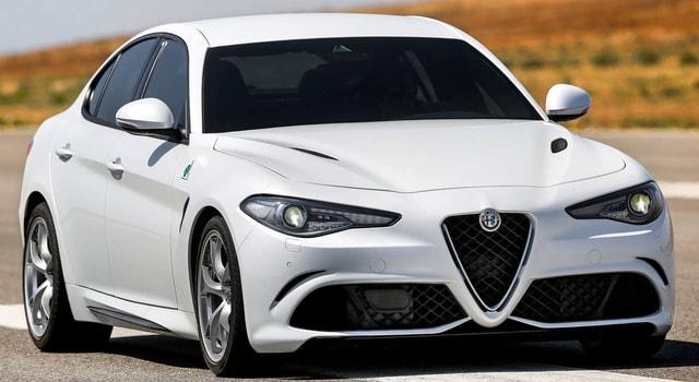 The new Alfa Romeo Julia Quadrivoglio 2019 - The two Italian-made rockets supported by a Ferrari engine
