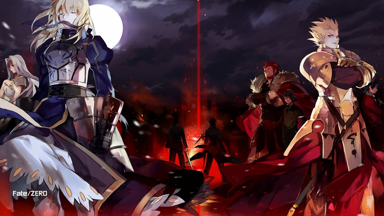 Fate/Zero BD (Season 1 & Season 2) Subtitle Indonesia