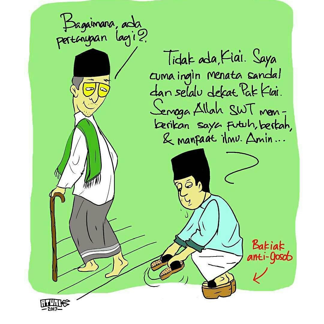 Kartun Muslimah Nasehat Kolek Gambar