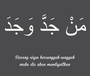 Kaligrafi Kata Mutiara Bahasa Arab Dan Artinya Nusagates