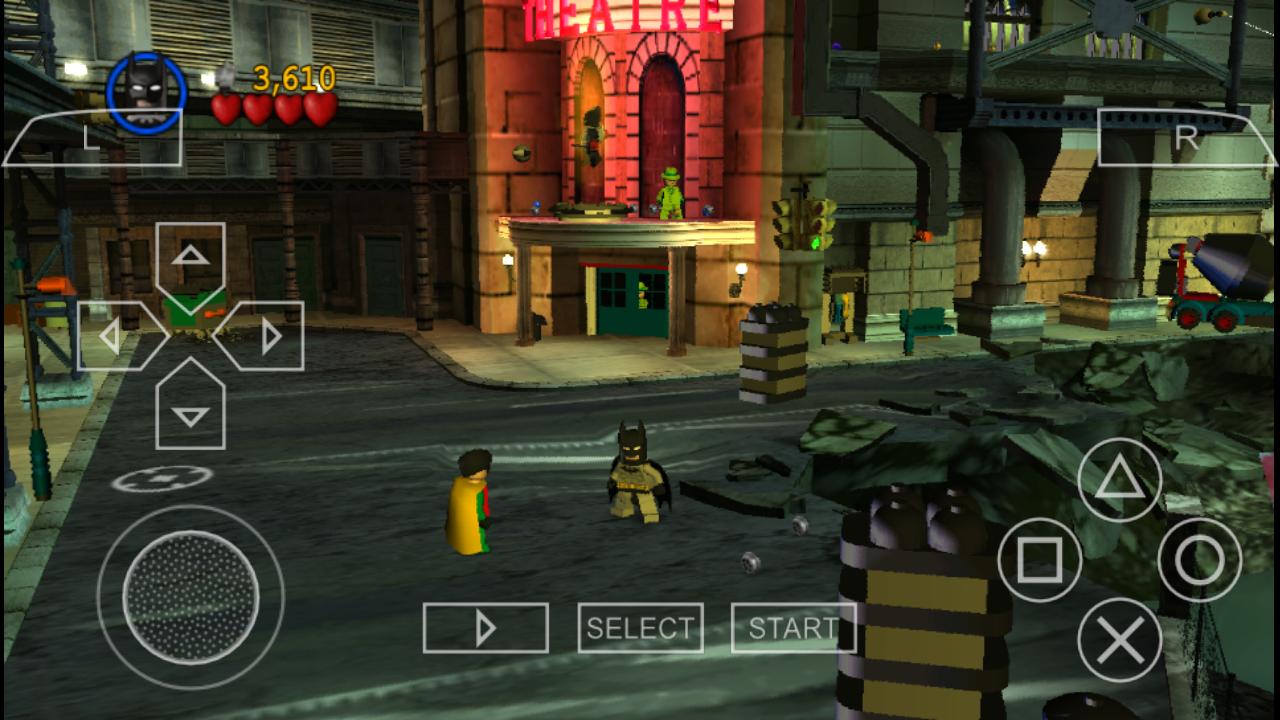 Lego Batman Psp Download