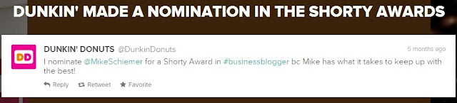 mike schiemer shorty awards finalist twitter