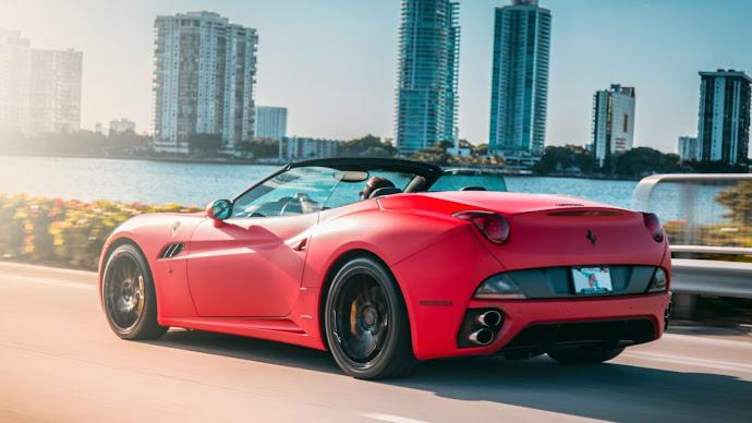 Wallpaper: Ferrari California. Dream Car