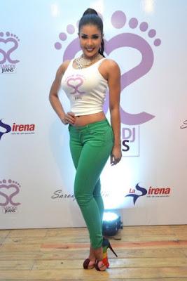 foto de modelo dominicana