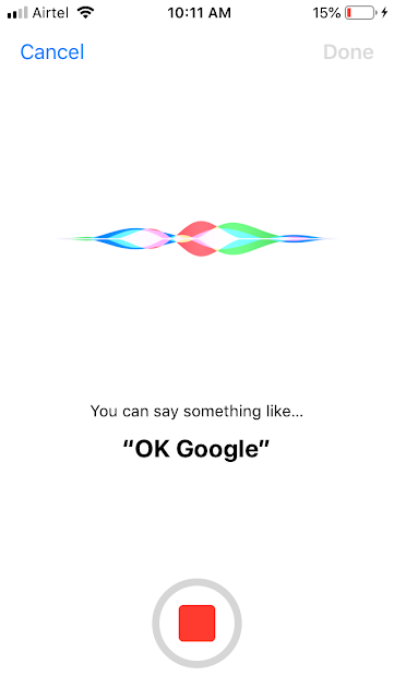 Siri to Google Assistance