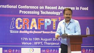 iCRAFPT: International Conference held in Thanjavur