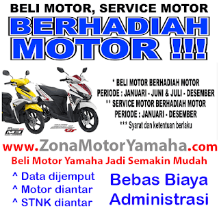 Promo Beli Cash dan Kredit Motor Yamaha