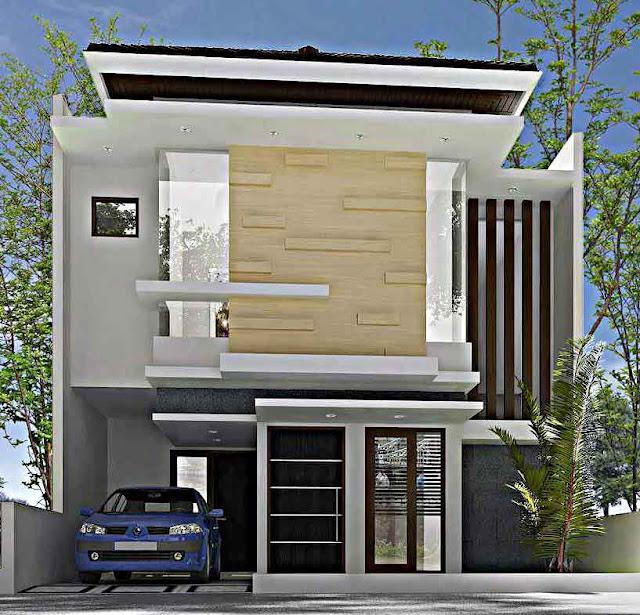 Model Desain Rumah Minimalis 2 Lantai Sederhana 6x15