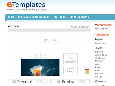 Download Template Blogspot Gratis
