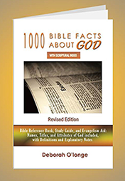1000 Bible Facts About GOD