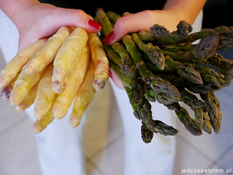 szparagi jak przygotować