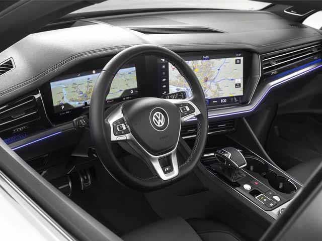 The most technological Volkswagen Touareg