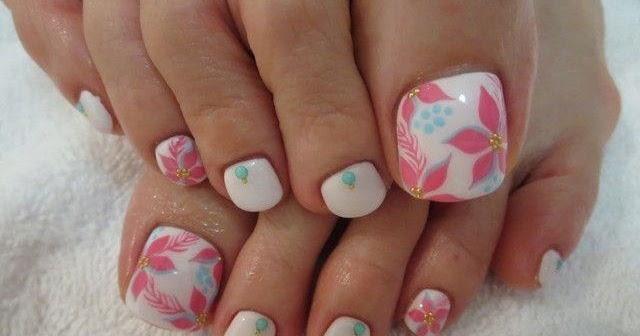 Lindos Diseños de Uñas para pies   Bonitas   Hermosas   Yari Uñas