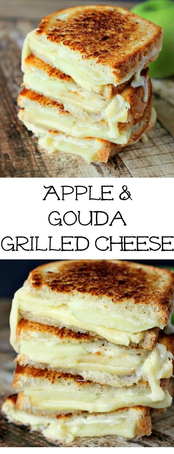 Apple Grilled Cheese