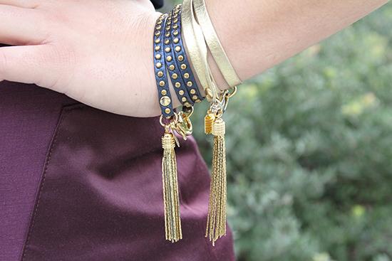 E. Kammeyer Leather Wrap Bracelets