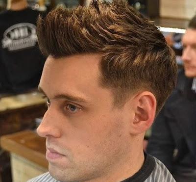 foto rambut pendek pria terbaru jabrik