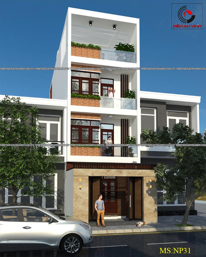 Mẫu thiết kế nhà ống đẹp 2 tầng 1 tum diện tích 80m2 Thiet-ke-nha-dep-3-tang-3