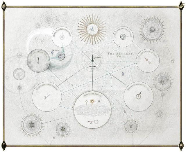 Mapa Reinos Mortales Age of Sigmar